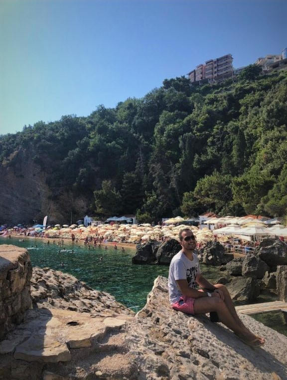 Mogren Plajı-Mogren Beach-Budva-Karadag-Montenegro