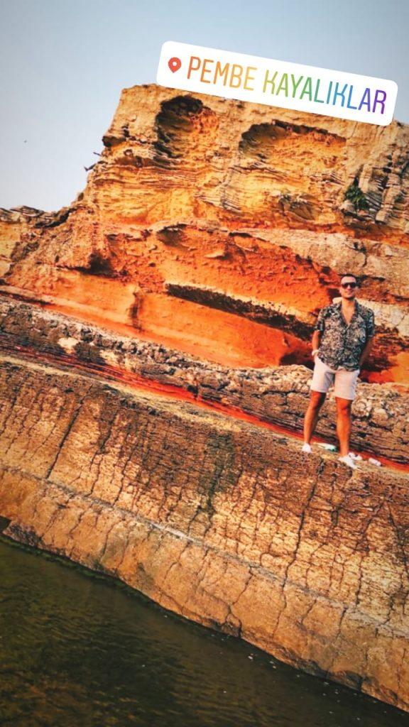 Kerpe gezilecek yerler pembe kayalıklar
