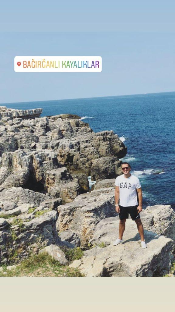 bağırganlı kayalıkları
