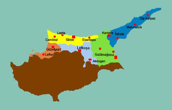 kıbrıs gezi planı