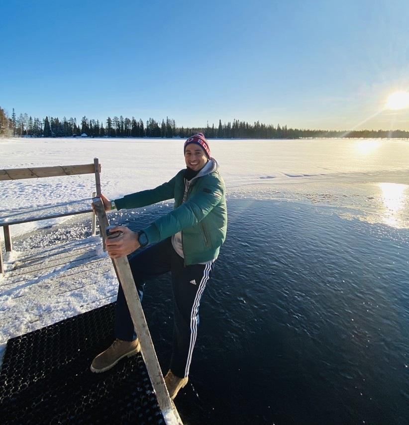finlandiya vizesi finnish sauna and arctic lake
