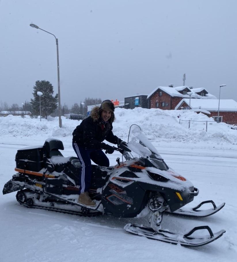 schengen vize başvuru snowmobile finlad