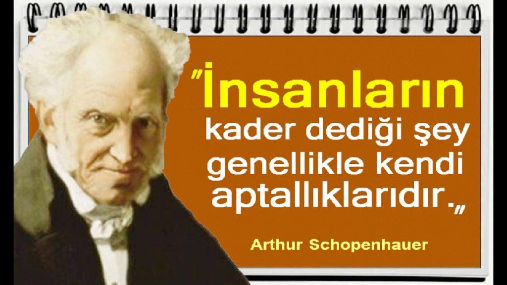 arthur schopenhauer sozleri