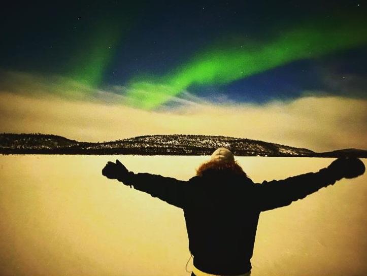 kuzey ışıkları finlandiya