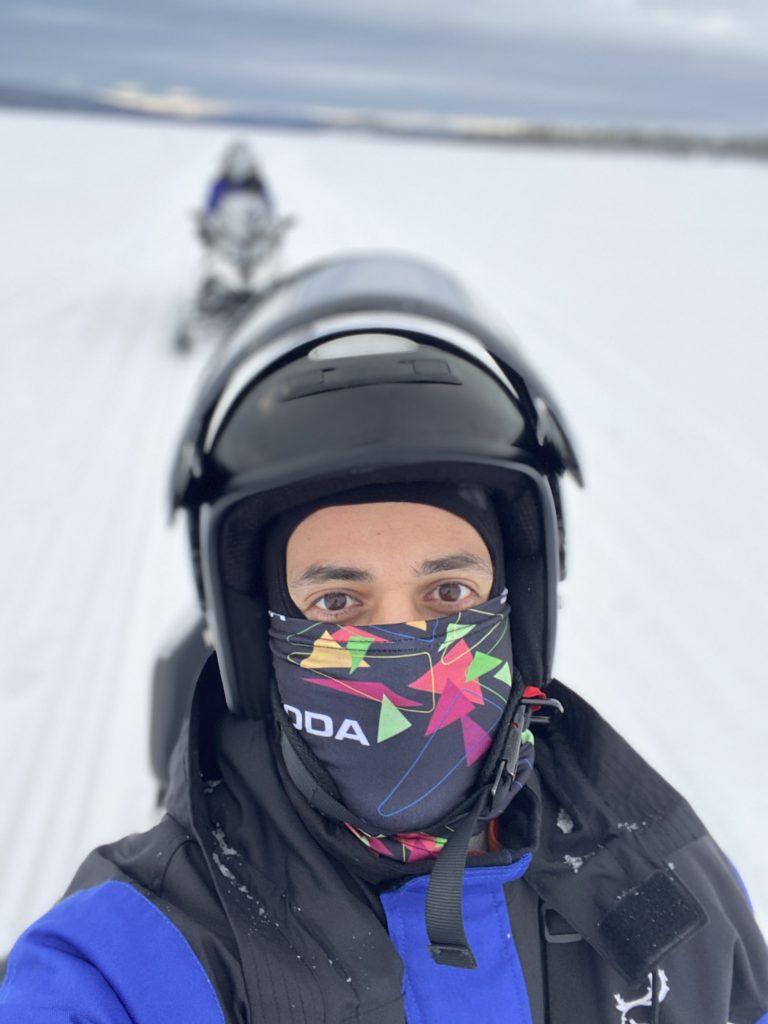 lapland aktiviteleri snowmobile