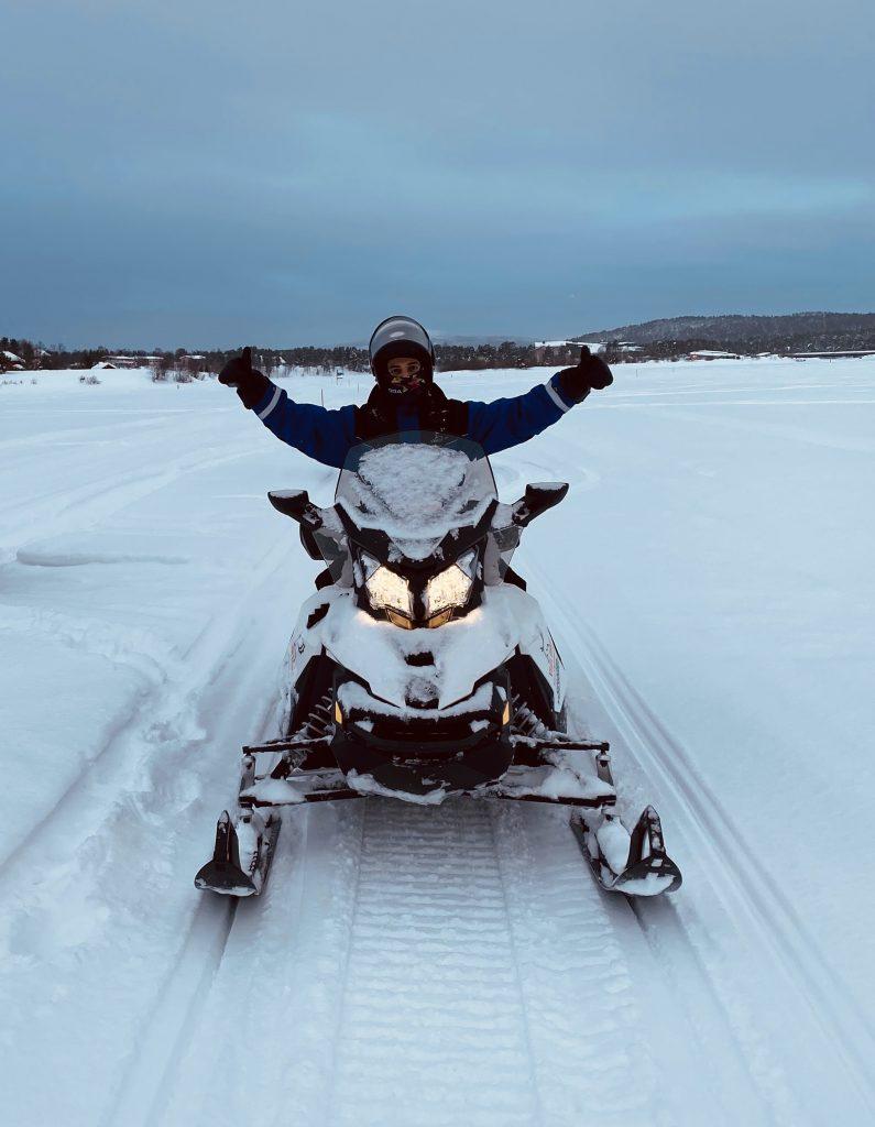 snowmobile inari