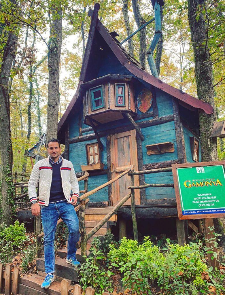 hobbit evleri ormanya