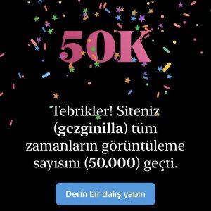 gezginilla.com 50 bin